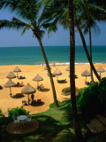 Private Beach of Mt Lavinia Hotel  Colombo  Sri Lanka