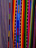 Woven Fabric Detail  Chichicastenango  Quiche  Guatemala