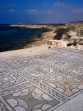 The Wonderfully Intact Byzantine Mosaics of the Roman Baths at Sabratha  Sabratha  Libya