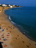 People on Beach  Albufeira  Algarve  Portugal
