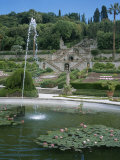 Gardens of the Villa in Collodi  Italy Where Pinnochio was Written