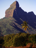 Rocky Peak of Mt Rempart  Tamarin  Mauritius