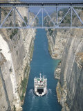 Corinth Canal  Peloponnisos  Greece