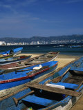 Fishing Boats on the Beach  Acapulco