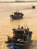 Fishing Boat  Han River  Danang  Vietnam