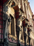 Detail of Building  St Petersburg  Russia