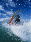 Wind Surfing at Kanaha Beach  HI