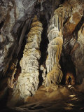 Giant Calcite Columns Stretch More Than 50 Feet to the Ceiling of Tower Place in Lechuguilla Cave