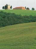 Hillside Chapel  Tuscany  Italy