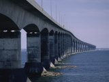 Confederation Bridge  Prince Edward Island and New Brunswick  Canada