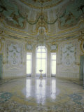 The Rotunda Switchback Pavilion Near St Petersburg  Russia