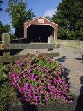 Kreidersville Covered Bridge  Northampton County  Pennsylvania  USA