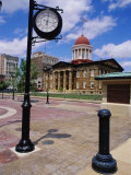 Old State Capitol Plaza  Springfield  Illinois  USA