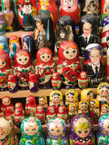 Matryoshka Nesting Dolls  Budapest  Hungary