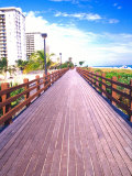 Boardwalk  South Beach  Miami  Florida  USA