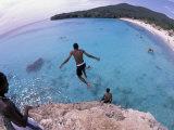 Cliff Jumping  Playa Abou  Playa Kanepa  Curacao