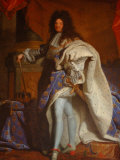 King's State Apartment and Portrait of King Louis XV  Versailles  France