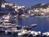 Port at Village of Ponza  Pontine Islands  Italy