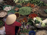 Vegetable Market  Hue  Vietnam