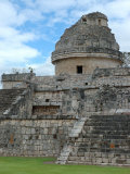 Temple of the Observatory  Chichen Itza  Mexico