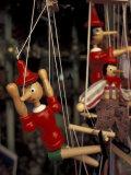 Marionette  Pinocchio Puppet  Taormina  Sicily  Italy