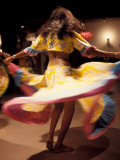 Twirling Sega Dancers  Seychelles