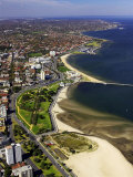 Catani Gardens  Port Phillip Bay  Melbourne  Victoria  Australia