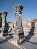 Beautiful Carved Stone Pillars