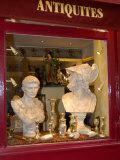 Antique Shop in Ile St Louis  Paris  France