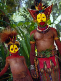 Huli Wigmen  Traditional Body Decoration  Papua New Guinea