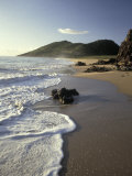 Atlantic Beach of St Kitts  Caribbean