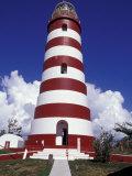 Candystripe Lighthouse  Elbow Cay  Bahamas  Caribbean