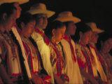 Dancer Performing at La Guelaguetza  Oaxaca  Mexico