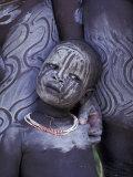 Portrait of Surma Child  Ethiopia