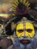 Huli Wigman  Tari  Papua New Guinea  Oceania