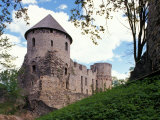 Castle at Cesis  Latvia