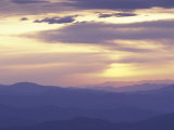 Sunrise from Clingman's Dome  Great Smoky Mountains National Park  Tennessee  USA