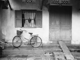 House and Bicycle  Hanoi  Vietnam