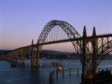 Yaquina Bay Bridge Newport Oregon USA