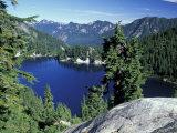 Snow Lake  Snoqualmie Pass  Alpine Lakes Wilderness  Washington  USA