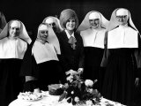 Dusty Springfield with Nuns