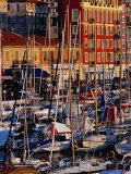 Boats in the Harbour at Bassin Lympia  Nice  France