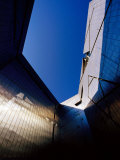 Zinc-Clad Walls of Jewish Museum in Kreutzberg  Berlin  Germany