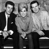 Dusty Springfield with Tom Springfield Right of the the Springfield Group  September 1963