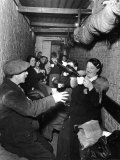 Sheltering Underground During the Blitz Islington London