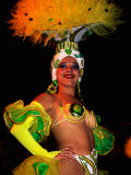 Female Dancer at Centro Nocturno Cabaret  Holguin  Cuba