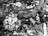 Natalie Wood Actress in Garden