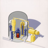A Painting of an Improved Reactor Design by Pierre Mion