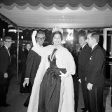 Ava Gardner at the Premiere of the Prime of Miss Jean Brodie  February 1969
