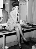Dusty Springfield Sitting on a Table